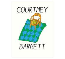 Courtney Barnett Art Print