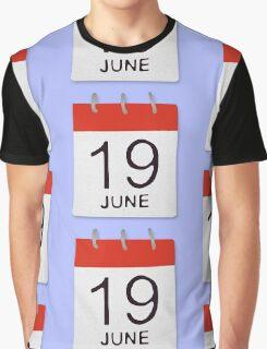 June 19 Graphic T-Shirt