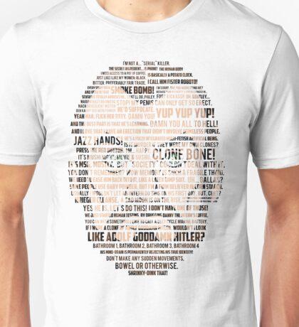 Krieger Quotes (Archer) Unisex T-Shirt