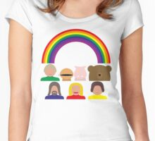 Rainbow Women's Fitted Scoop T-Shirt
