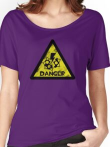 Explosive Warning Women's Relaxed Fit T-Shirt