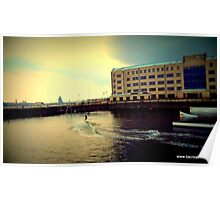 Liverpool Watersports centre Poster