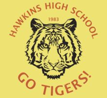 Hawkins High School 1983 (aged look) Kids Tee