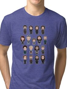 The Musketeers: The Whole Cast (shirt) Tri-blend T-Shirt