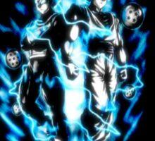 Goku & Vegeta Super Saiyan GoD/Blue Sticker