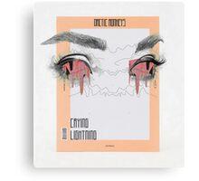 Crying Lighting Arctic Monkeys Fan Poster Canvas Print