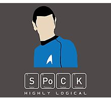 Highly Logical Spock Photographic Print
