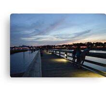 Views from the Pier Canvas Print