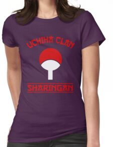 Uchiha Clan Womens Fitted T-Shirt
