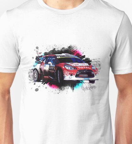WRC - Kris Meeke's Citroen DS3 Unisex T-Shirt