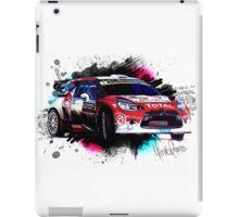 WRC - Kris Meeke's Citroen DS3 iPad Case/Skin