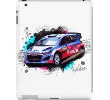 WRC - Hayden Paddon's Hyundai i20 iPad Case/Skin