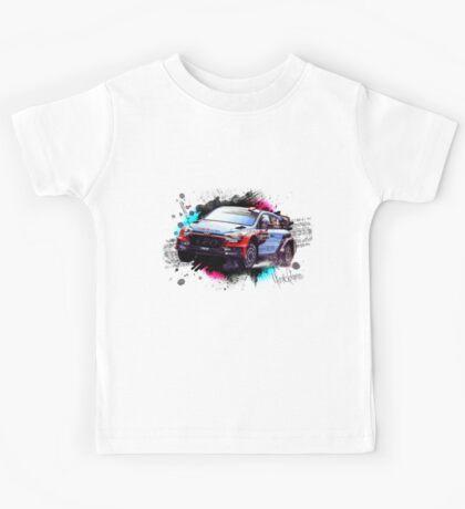 WRC - Dani Sordo's Hyundai i20 Kids Tee