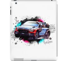 WRC - Dani Sordo's Hyundai i20 iPad Case/Skin