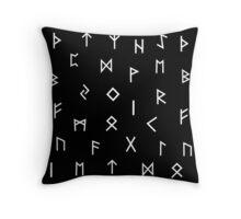 Viking Runes 2  Throw Pillow