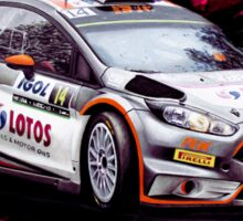 WRC - Robert Kubica Ford Fiesta RS Sticker