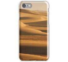 Sunswept sand along the Skeleton Coast iPhone Case/Skin