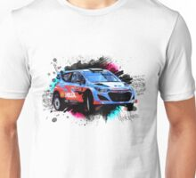 WRC - Thierry Neuville's Hyundai i20 Unisex T-Shirt