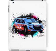 WRC - Thierry Neuville's Hyundai i20 iPad Case/Skin
