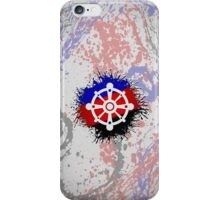 Polyamorous Pride Wheel of Dharma iPhone Case/Skin