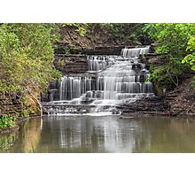 Old Mill Falls on Hector Creek Photographic Print