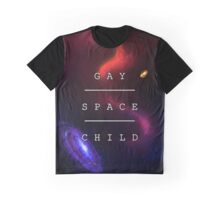 Gay Space Child Graphic T-Shirt