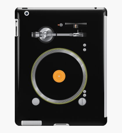 Turntable Music Vinyl Record Player  Gramophone iPad Case/Skin