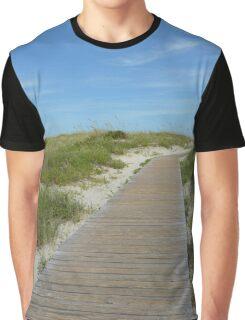 Trip to the Beach Graphic T-Shirt