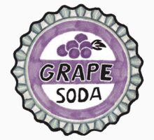 up grape soda pin  One Piece - Short Sleeve