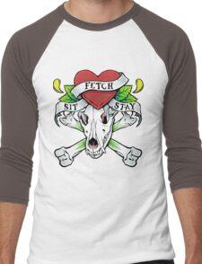 Fetch, Sit, Stay Men's Baseball ¾ T-Shirt