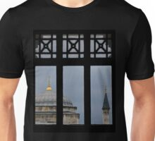 minaret through the window- Istanbul Unisex T-Shirt