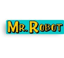 Mr Nineties Robot! Canvas Print
