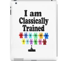 I am Classically Trained (vintage) iPad Case/Skin