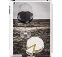 Wine and cheese iPad Case/Skin