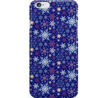 Elegant Winter Snowflake Pattern iPhone Case/Skin