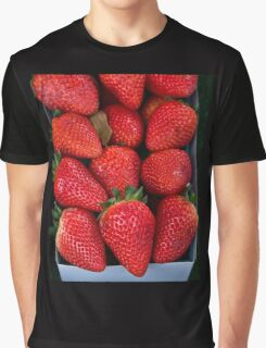 strawberries in a box Graphic T-Shirt