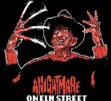 Nintendo Nightmare on Elm Street by clearspace80