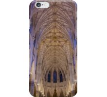 Inside St. Patrick Cathedeal iPhone Case/Skin