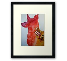 Padfoot Framed Print