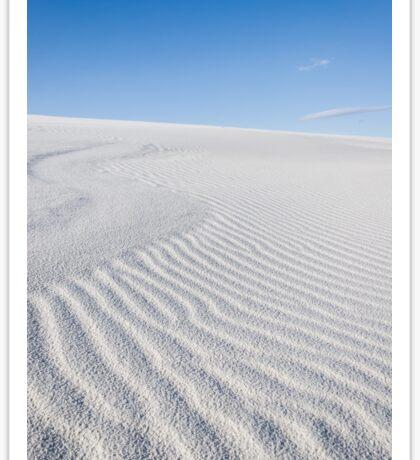 White Sands New Mexico Sticker