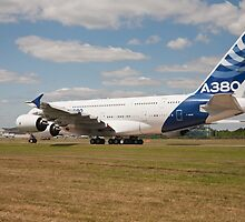 Airbus A380  by Keith Larby