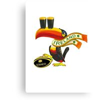GUINNESS RUGBY AMERICAN FOOTBALL IRISH IRELAND Canvas Print