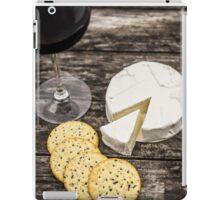 Wine and cheese iPad Case/Skin