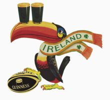 GUINNESS RUGBY AMERICAN FOOTBALL IRISH IRELAND Kids Tee