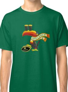 GUINNESS RUGBY AMERICAN FOOTBALL IRISH IRELAND Classic T-Shirt
