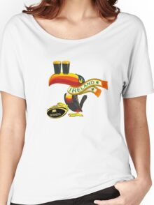 GUINNESS RUGBY AMERICAN FOOTBALL IRISH IRELAND Women's Relaxed Fit T-Shirt