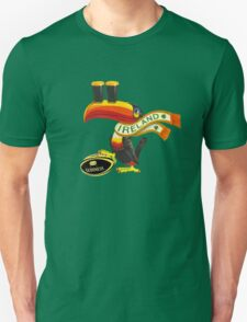 GUINNESS RUGBY AMERICAN FOOTBALL IRISH IRELAND Unisex T-Shirt