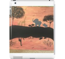 Mirror safari iPad Case/Skin