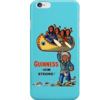 GUINNESS HIM STRONG iPhone Case/Skin