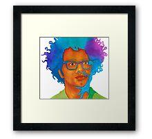 Richard Ayoade Framed Print